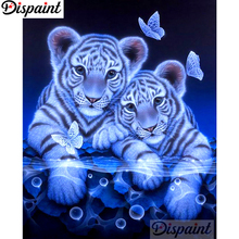 Dispaint Full Square/Round Drill 5D DIY Diamond Painting Animal tiger scenery3D Embroidery Cross Stitch Home Decor Gift A11391 dispaint full square round drill 5d diy diamond painting animal tiger sceneryembroidery cross stitch 3d home decor gift a11463