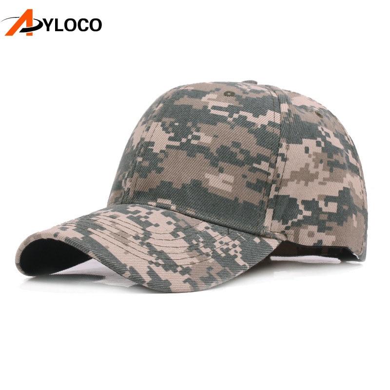 New Camo Cap US Army Cap Men Baseball Cap Camouflage Mens Snapback Outdoor Tactical Sport Hats For Adult