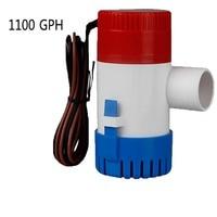 1100GPH Boat Bilge Water Pump Submersible Marine Float Switch Intermittent Work 12V Kit #275636
