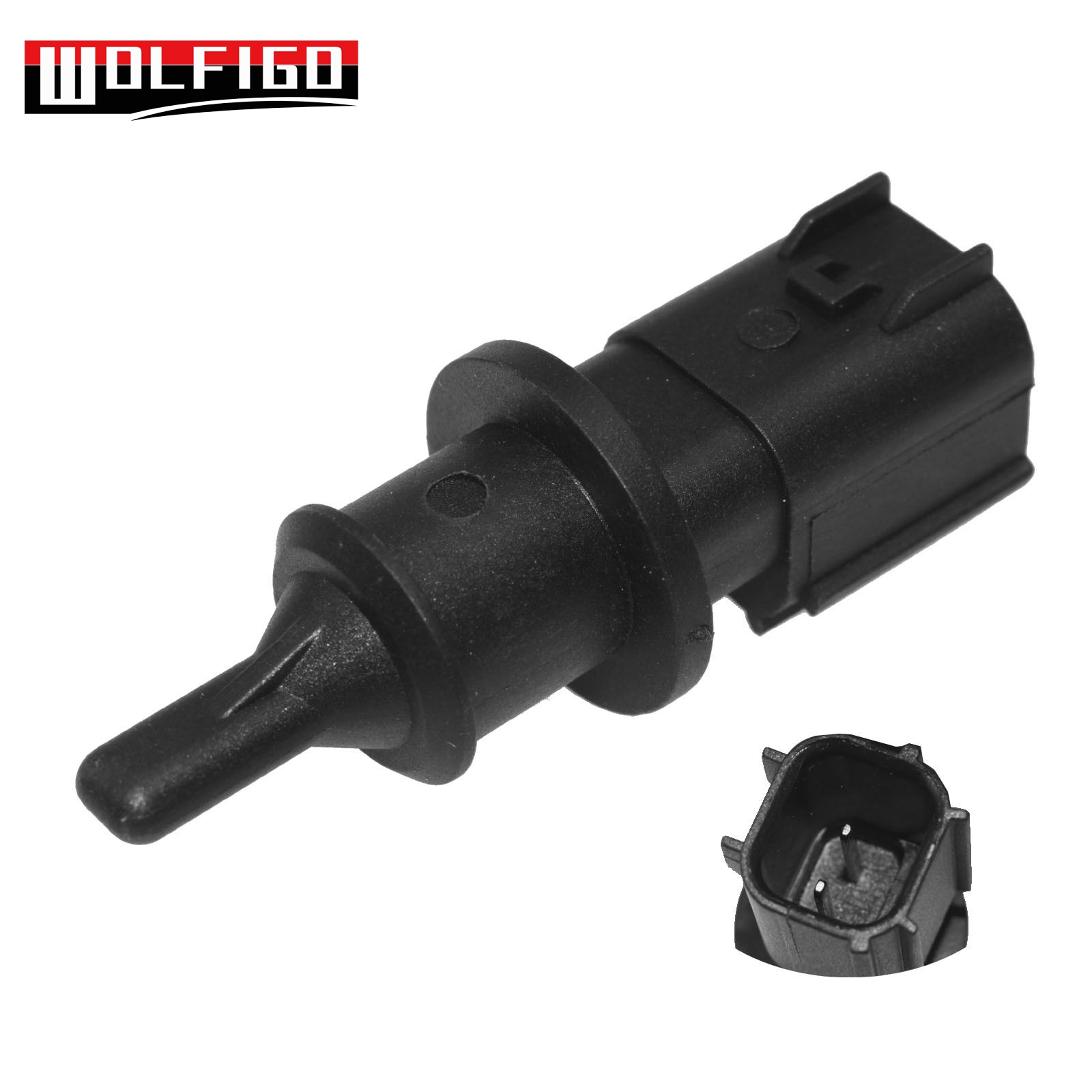 WOLFIGO For 2000-2018 Chrysler Jeep Dodge Ambient Air Charge Temperature Sensor 5149264AB,,5293138,5149264AAWOLFIGO For 2000-2018 Chrysler Jeep Dodge Ambient Air Charge Temperature Sensor 5149264AB,,5293138,5149264AA