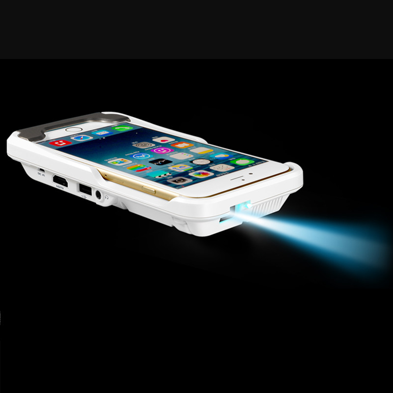 Portable Mini Projector For Iphone 7 7 Plus Mobile Phone 6 6s