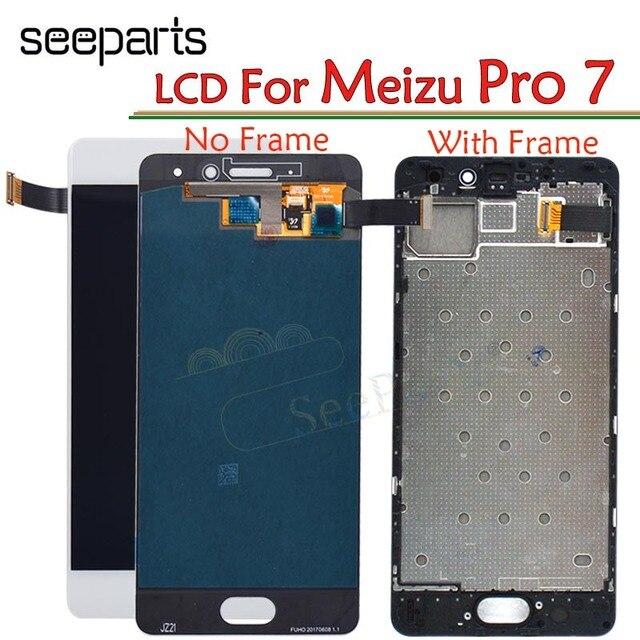 """מקורי לmeizu Pro7 פרו 7 LCD תצוגה עם מסך מגע עצרת M792M M792H החלפת מסך עבור 5.2 """"Meizu פרו 7 LCD"""