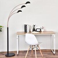 Nordic Light Designer Living Room Bedroom Study Creative Model Room Modern Engineering Three Decorative Lamp Free