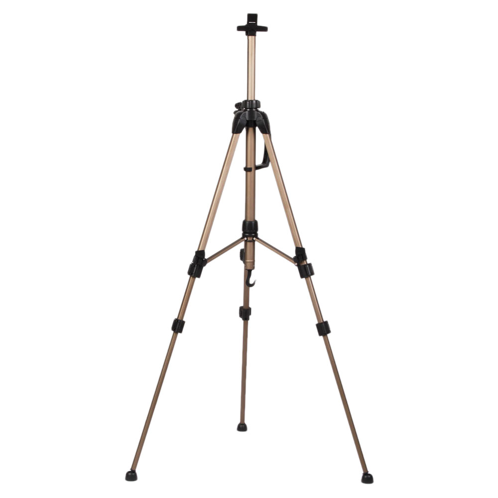 Zinc Alloy Metal Easel For Painting Tripod Easel Stand Folding Portable Easel For Artist SKU83329799