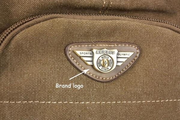 Man's Canvas Backpack Travel Schoolbag Male Backpack Men Large Capacity Rucksack Shoulder School Bag Mochila Escolar 11