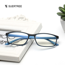 SUERTREE Reading Glasses Anti Blue Ray Ultralight HD Diopter Lens Presbyopic Comfort Fit Men and Women for BM141