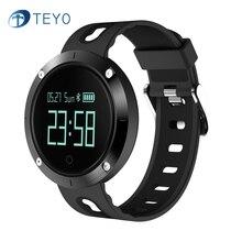 Teyo умный Браслет DM58 крови Давление часы Пульс сна монитор сердечного ритма шагомер спорт smartband для iOS телефона Android
