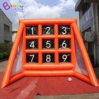 Индивидуальные 3X3,5X3 метра надувные Футбол цель Постоянный совет забавные надувные Футбол съемки игры для детей на открытом воздухе игрушки