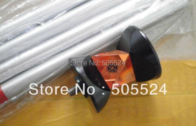 100 BRAND NEW 360 stopni Mini pryzmat z 4 biegunami dla wszystkich stacji wysokiej jakości tanie i dobre opinie LETER Nieregularny Kształt 10 5 China 360 Degree Mini Prism