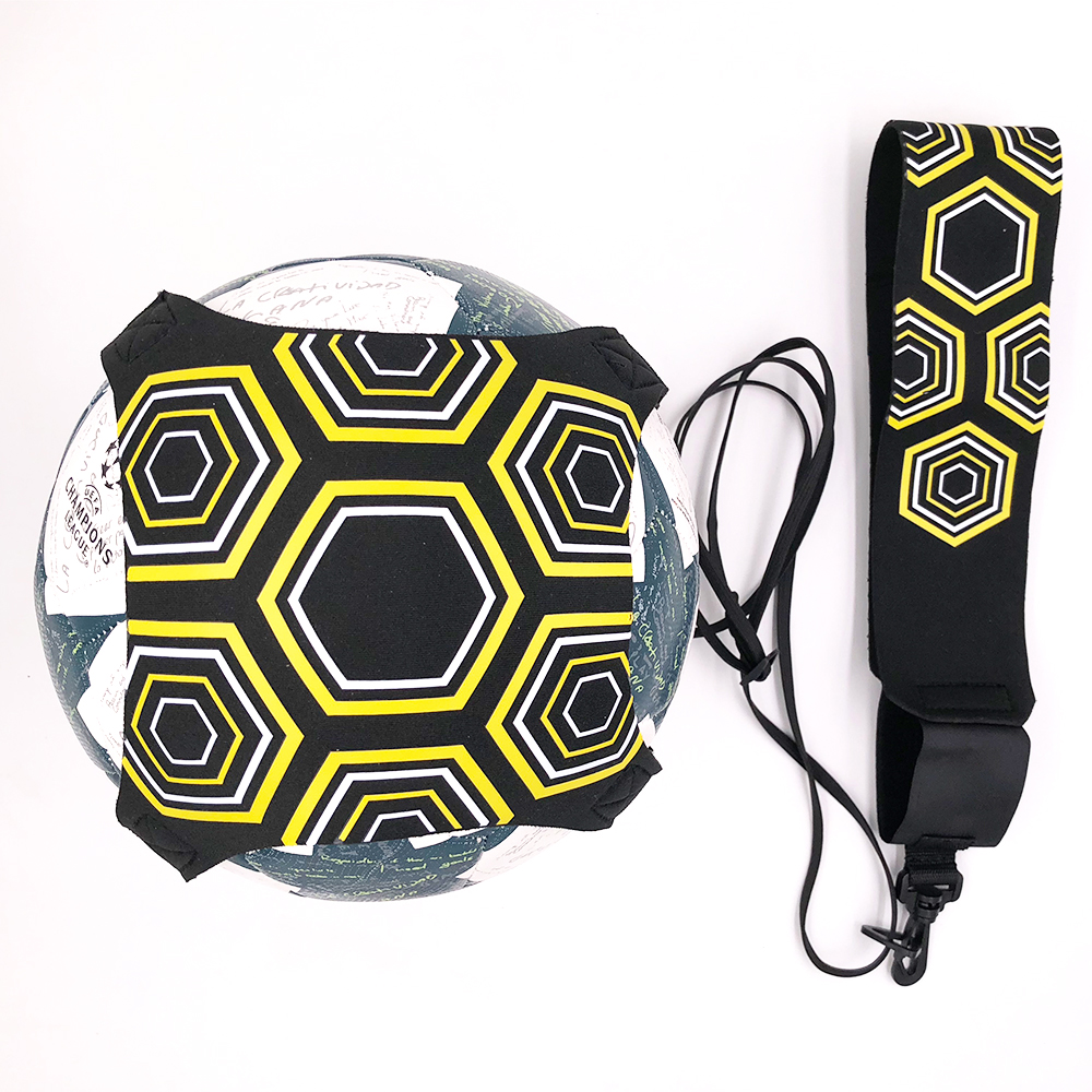 Top quality Soccer ball Solo Kick belt Trainer Training Equipment Trainer football kinetic elastic cord stretches Drop Ship