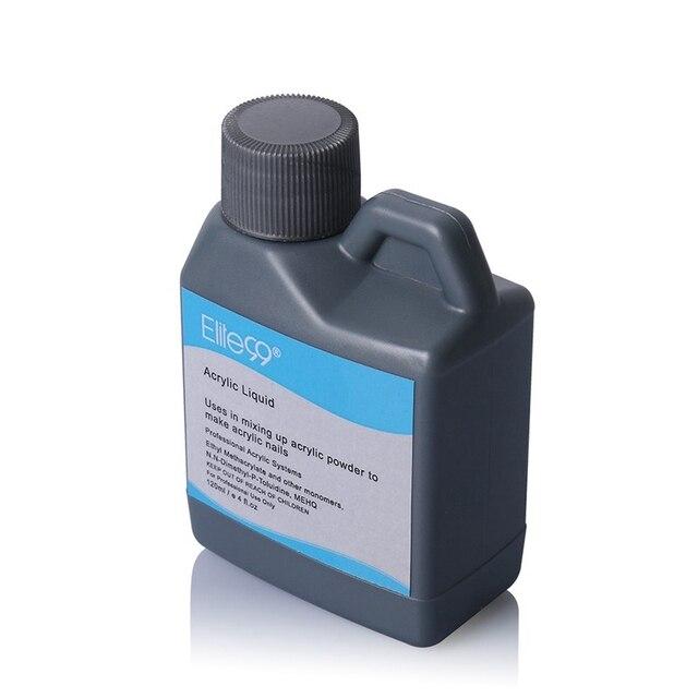 Elite99 Professionelle 120 ml Acryl Flüssigkeit Falsche Acryl Nagel Flüssige Acryl Pulver System Nail art Werkzeuge Für UV Gel Nagel tipps