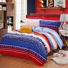 Modern minimalist style Winter soft velvet bedding set super warm bed sheet duvet cover pillowcase soft bedding home textile