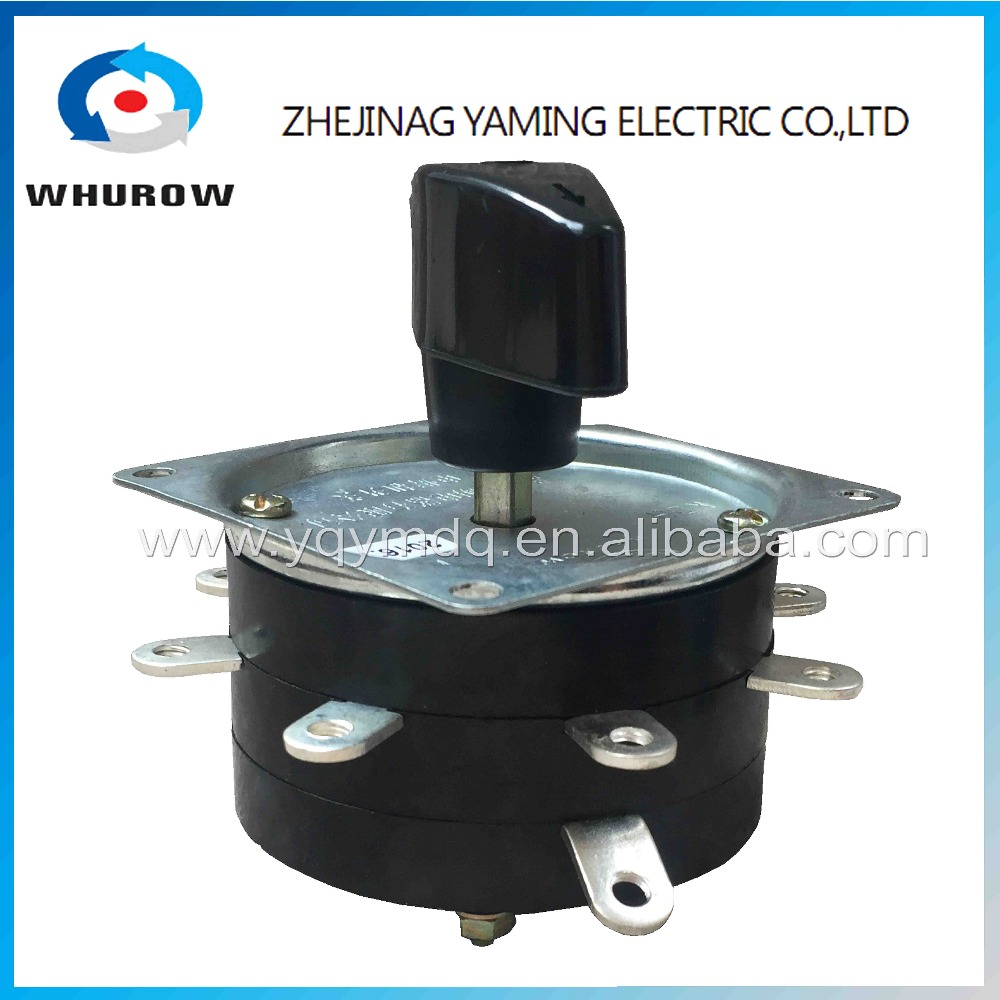 Welder switch KDH-25/1*8 contactor 8 position 1 phase 9 pin 25A welding machine switch rotary switch copper pin silver-plate welder machine welding foot pedal switch welder companion