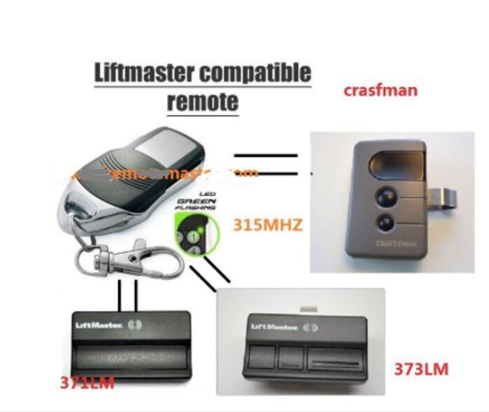 Replacement Remote For Craftsman Garage Door Opener Remote