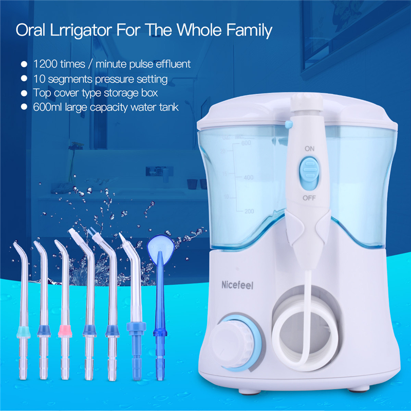 Electric Oral Teeth Dental Water Flosser Dentistry Power Floss Irrigator Jet Cleaning Mouth Cavity Oral Irrigador Accessories dental water flosser electric oral teeth dentistry power floss irrigator jet cavity oral irrigador cleaning mouth accessories