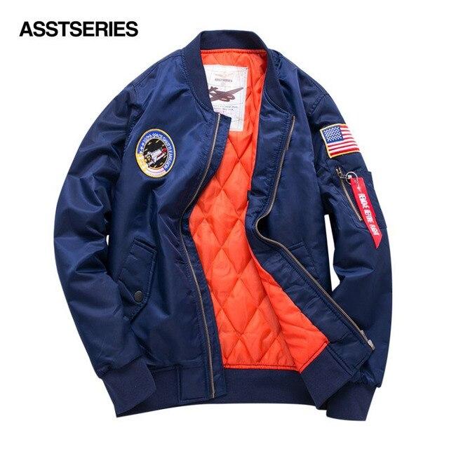 S-6XL известные бренды высокое качество толстые зимние Армейский зеленый Военная Униформа мотоциклетные ма-1 летная куртка пилота ВВС Для мужчин Курточка бомбер