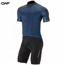 Фотография 2017 Men Team Pro Cycling Jersey 19D pad bike Shorts set Ropa Ciclismo Quick Dry mens summer bike wear Maillot Culotte