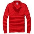 Marca Los Nuevos Hombres de Polo Camisa Para Hombre de La Moda camisas de Cuello de Manga Larga Camisetas Casuales Masculinas Más El Tamaño XXXL Polos Camiseta