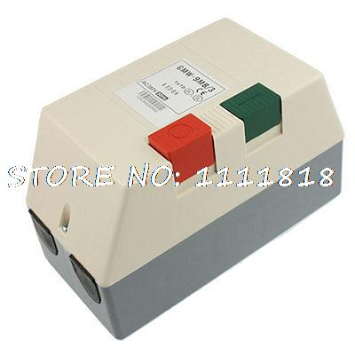 цена на AC 380V 5-8A 4HP Three Phase Motor Start Stop Control Magnetic Starter