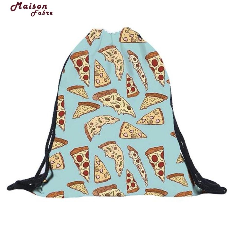 New Fashion Travel Lunch Shoulder Bag Unisex Christmas Backpacks Printing Bags Drawstring Backpack Free Shipping 927#23