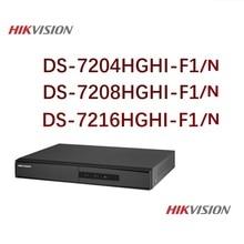 цены Hikvision English Version DS-7204/08/16HGHI-F1/N 1080P 4/8/16CH CCTV XVR for Analog/HDTVI/AHD/IP Security Camera 1SATA