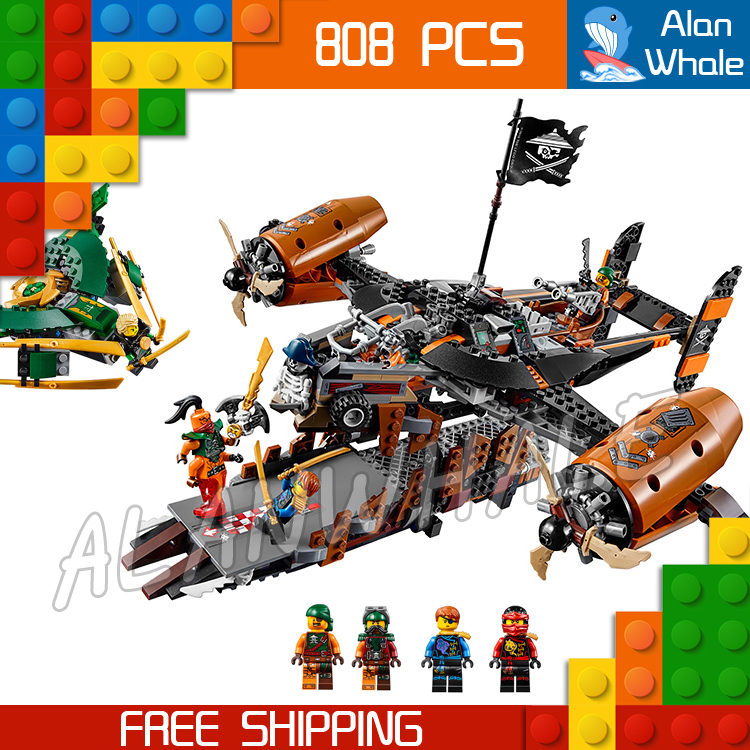 808pcs Bela 06028 Ninja Misfortunes Keep Building Blocks Jay Lloyd Toys Compatible With lego phantom ninja misfortune s keep diy model building blocks figureblock jay lloyd kai bucko toys compatiable with 70605
