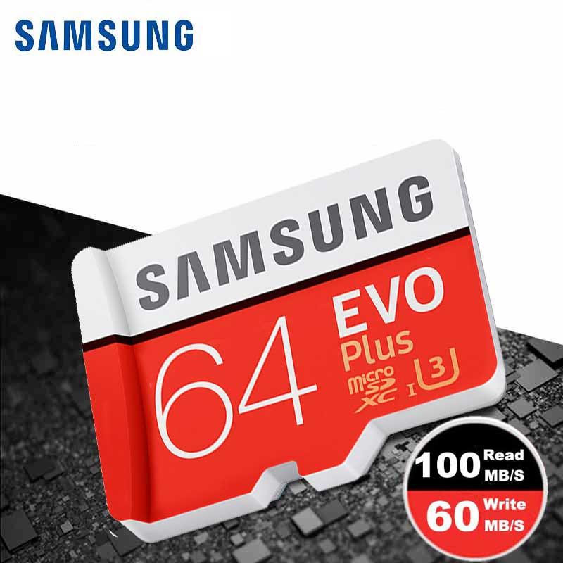 SAMSUNG Micro SD Memory Card 64gb Class10 TF Microsd Cartao De Memoria SDXC UHS-I 64gb U3 For Samsung Sony Huawei Mobile Phone