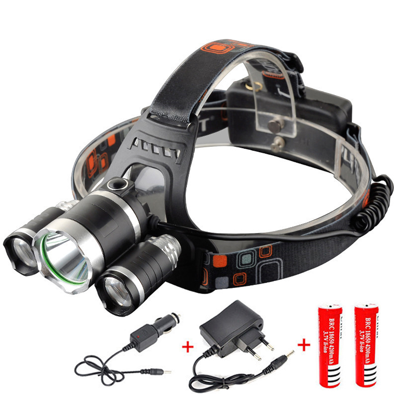20000Lm Headlamp COB LED Head light Torch Flashlight Fishing Camping Headlight