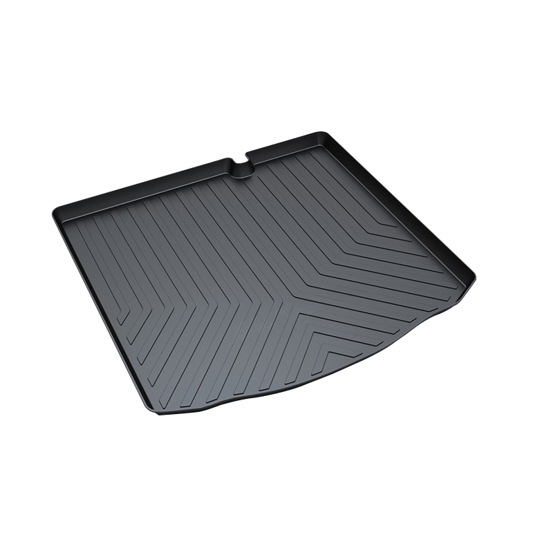 TPO Trunk Tray for Citroen C-Elysee,Premium Waterproof Pad car-styling products accessory for honda jazz trunk tray mat tpo waterproof anti slip car trunk carpet luggage cover black