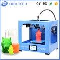 Qidi tecnologia única extrusora impressora 3d novo modelo: x-one, totalmente a estrutura de metal, tela sensível ao toque de 3.5 polegada
