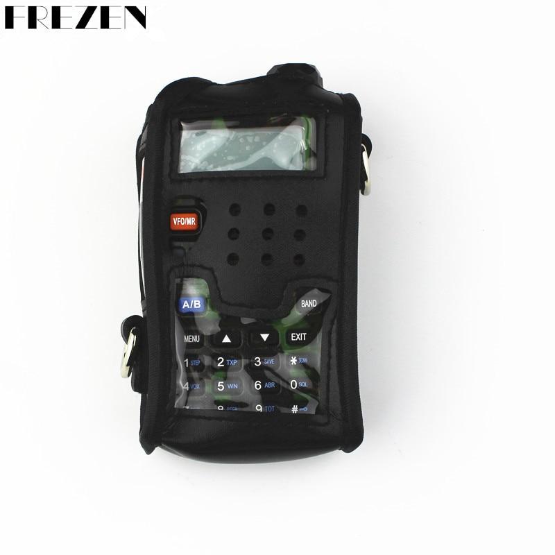 Baofeng Radio Custodia In Pelle Custodia Morbida Per Walkie Talkie radio BAOFENG UV-5R UV-5RA UV-5RE Plus.