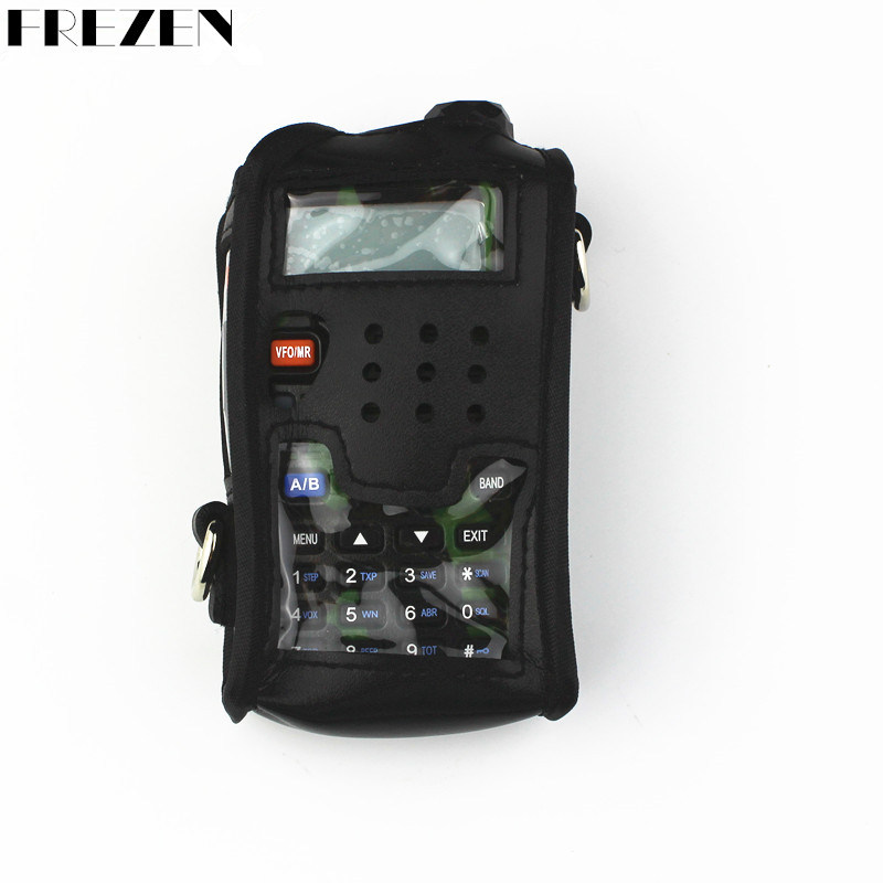 Baofeng Radio Leather Pouch Soft Case For Walkie Talkie Radios BAOFENG UV-5R UV-5RA UV-5RE Plus