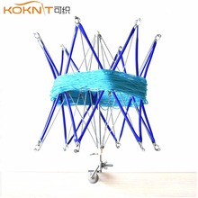 Umbrella Yarn Swift - Hand Knit Winder Tool, Wool Yarn Machine Reel, Metal Winder Finishing Yarn Machine DIY Tool Swift (Blue) divya shrivastava machine tool reliability