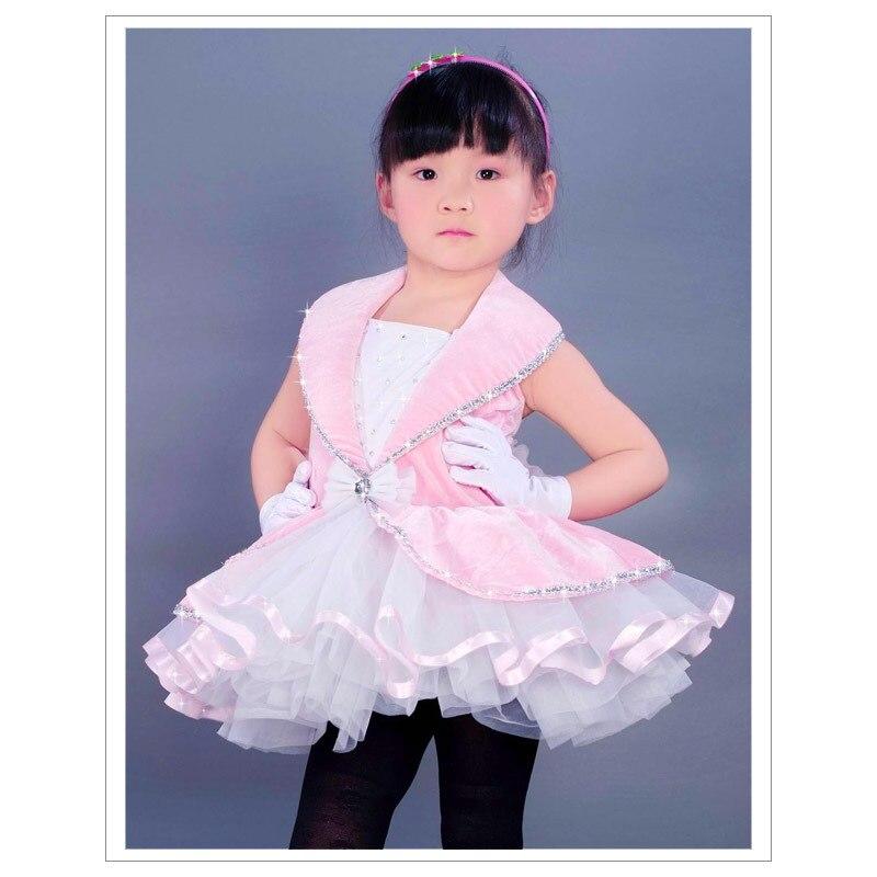 Baleta kleita bērniem Bērnu trikotāžas apģērbs Vakara kleita Latīņu deju princese Kāzu baleta kostīmi Profesionālie tuti