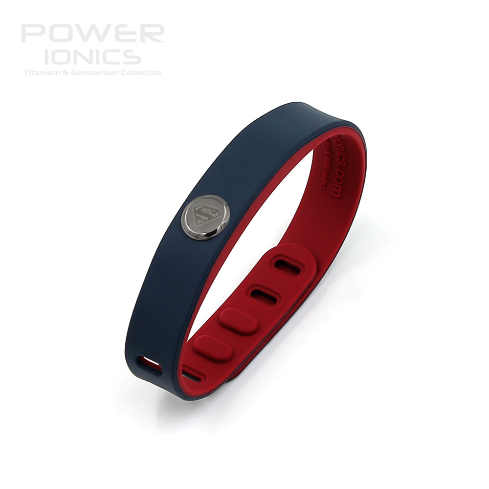 Ionics Hero Series Superman Idea Band 3000 Ions Sports Waterproof Anium Healthy Bracelet Wristband Balance Body In Hologram Bracelets From Jewelry