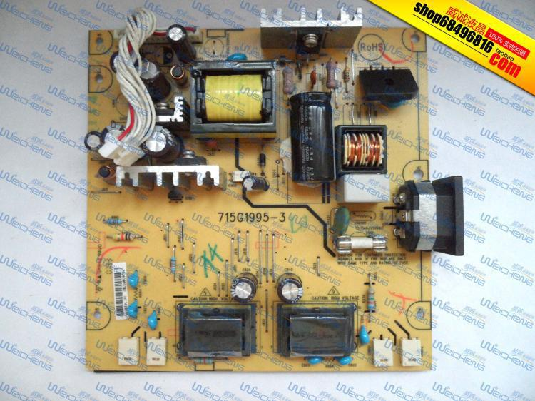 Free Shipping> /  L1740  L1740 high-voltage power supply board board four light small mouth 715G1995-3-Original 100% Tested Work free shipping v203h vw226 power board 4h 0uh02 a00 lamps small mouth e193hq original 100% tested working