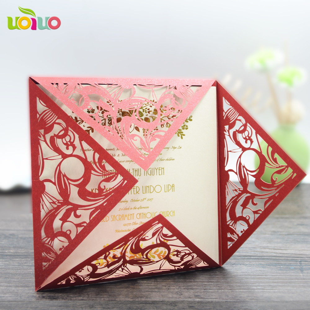 Luxurious wedding invitation cards,artistic wedding invitation cards ...