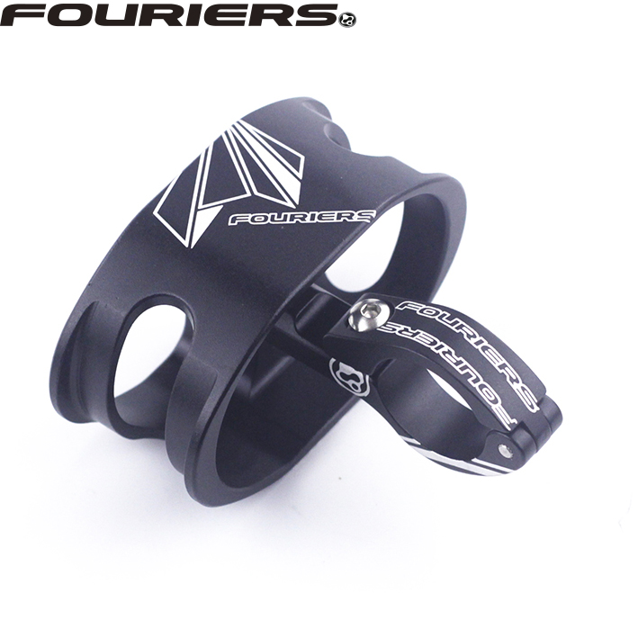Fouriers HA-WM001 Out Front Cycling Watch Mount For Garmin Forerunner Fenix Alloy For 22.2mm Handlebar Mount Fouriers HA-WM001 Out Front Cycling Watch Mount For Garmin Forerunner Fenix Alloy For 22.2mm Handlebar Mount