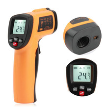 Infrared thermometer, GM550E infrared thermometer, temperature gun, industrial electronic thermometer цена и фото