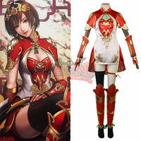 Dynasty Warriors 9 Sun Shangxiang Cosplay Costume adult outfit custom made chinese style