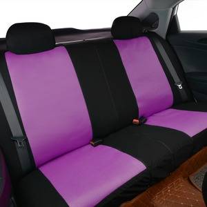 Image 3 - High Quality Pink Color Car Seat Cover Universal Fit Most Cars And Butterfly Printing Breathable Sandwich Cloth