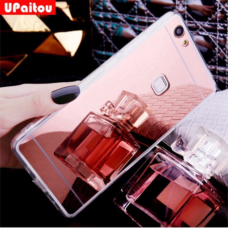 Us 167 16 Offupaitou For Huawei P9 Lite Coque Luxury Gold Plating Bling Mirror Case For Huawei P9lite Vns L21 Dual Sim Vns L22 L23 Back Cover In