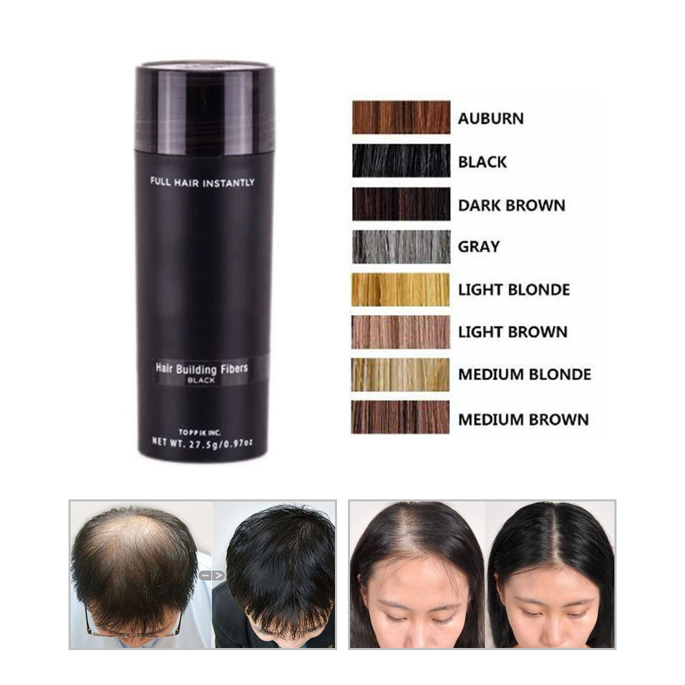 Toppik Beauty Hair Loss Concealer Building Fibers Keratin Thickening Spray Products