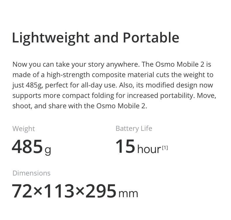 DJI OSMO Mobile 2  Smartphone Gimbal 4