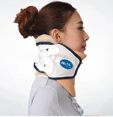 ФОТО Neck massager cervical traction apparatus household neck stretch inflatable hanging neck TuoHu neck with adult