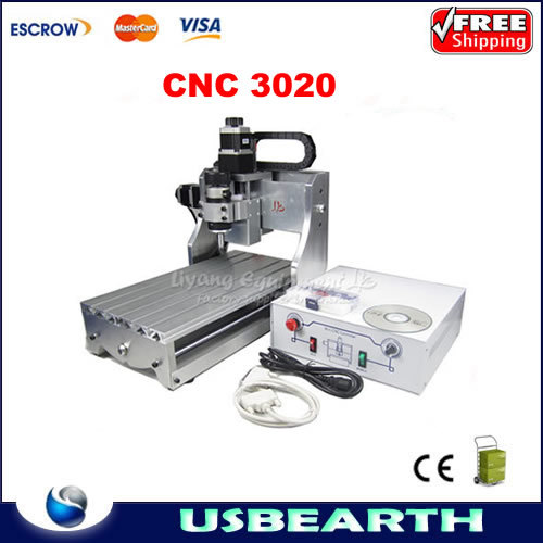 CNC 3020 Mini Engraving Machine CNC 2030 Drilling / Milling Router For PCB / Wood & Other Materials cnc 3020 mini desktop engraving machine 2030 drilling