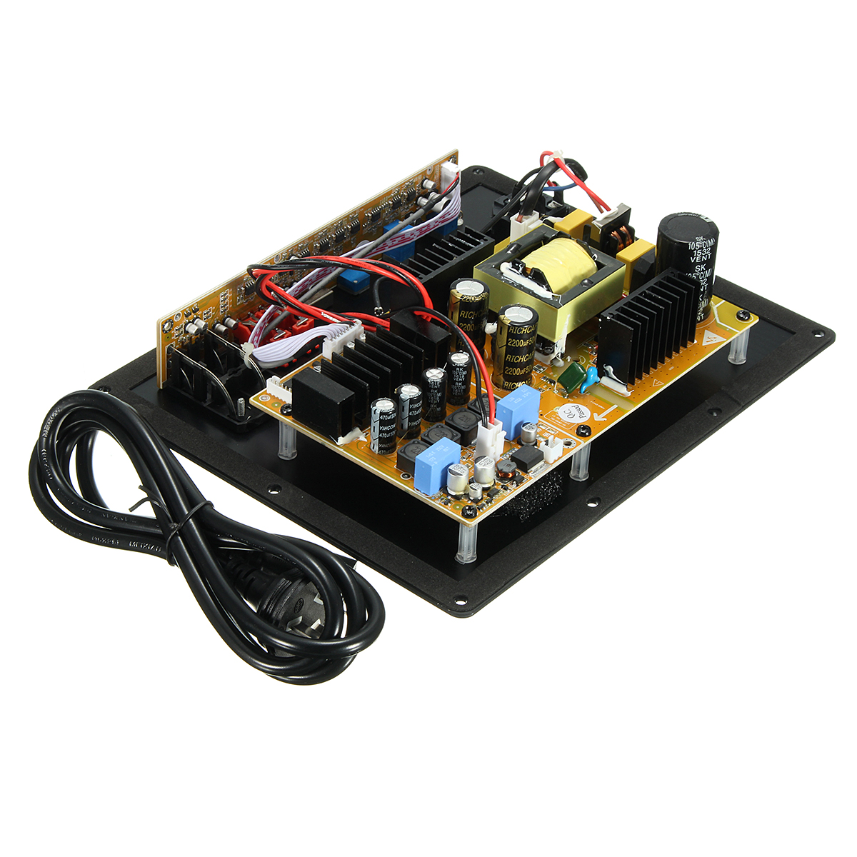 LEORY TAS5630B High-Power 280W Digital HIFI Subwoofer Amplifier Board Board Bass new assembly high power 280w 1 0 digital hifi subwoofer amplifier board active amplifier board home amplifier for subwoofer