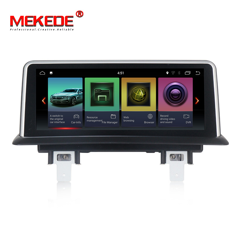 New arrival Mekede android Car gps navigation multimedia player for BMW E81 E82 E87 E88 120i