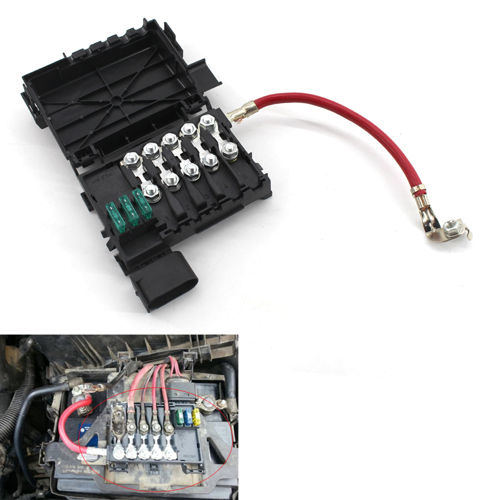 medium resolution of for vw jetta golf mk4 beetle fuse box battery terminal 1j0937550a b in car switches relays from automobiles motorcycles on aliexpress com alibaba