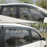 High Quality 4 Pcs Set CARENS Wind Rain Sun Guards Visor Vent Awnings Shelters For Toyota